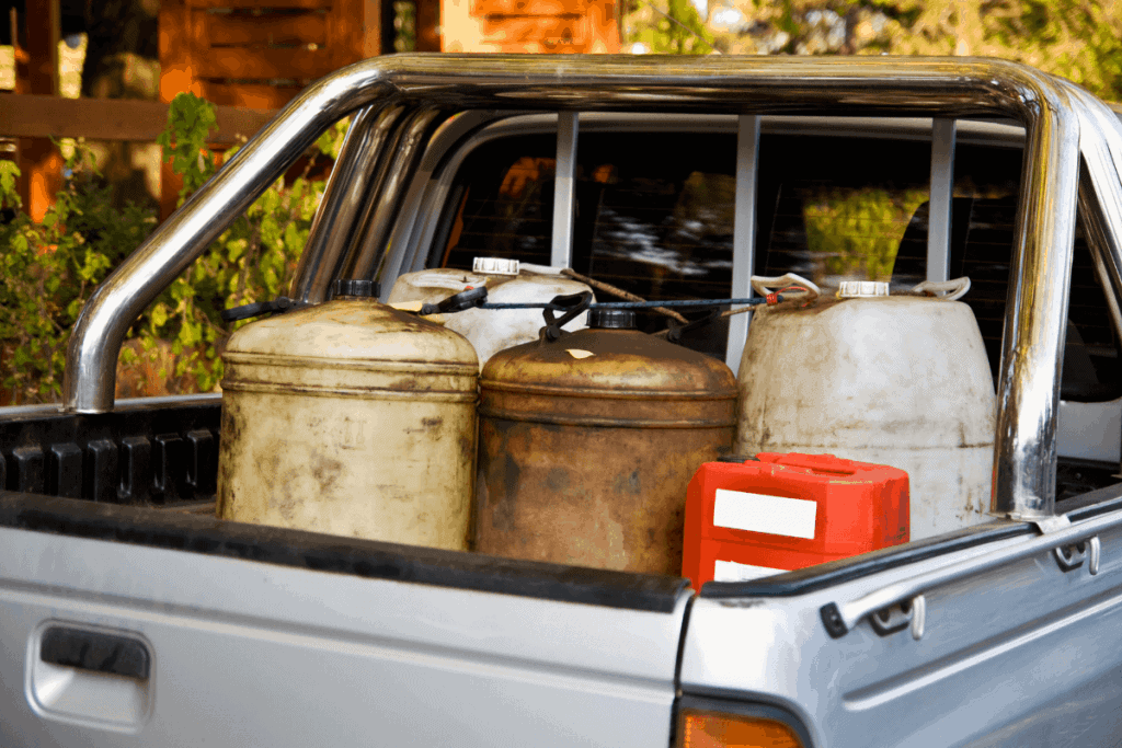 100 Gallon Fuel Tank and Toolbox Combo